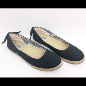 UGG BOW BACK LOAFERS